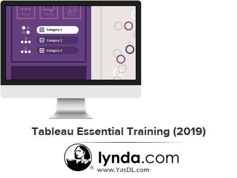 دانلود دوره آموزش مقدماتی تبلو - Tableau Essential Training (2019) - Lynda