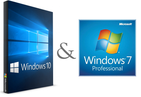 دانلود Windows 7-10 1809 x64 21in1 OEM ESD April 2019 - ویندوز 10 و 7 در یک دیسک
