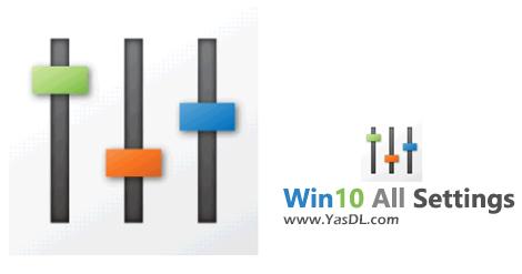 دانلود Win10 All Settings 1.0 - دسترسی سریع به تنظیمات پرکاربرد ویندوز 10