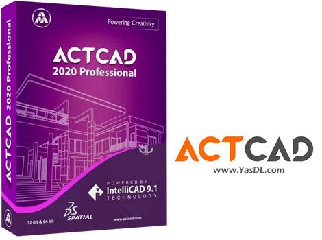 دانلود ActCAD Professional 2020 x64 - نرم افزار ترسیم نقشههای مهندسی