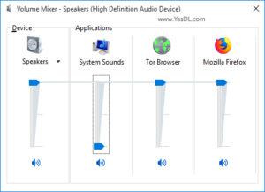 آموزش فعال و یا غیرفعال سازی صداها در ویندوز