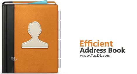 دانلود Efficient Address Book 5.50.540 - نرم افزار ساخت و مدیریت دفترچه تلفن