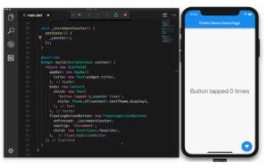 Flutter.cover1  300x188 - دانلود Flutter 1.22.4 - فریمورک متن باز فلاتر برای برنامهنویسی اندروید و iOS