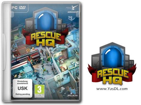 دانلود بازی Rescue HQ - The Tycoon برای PC