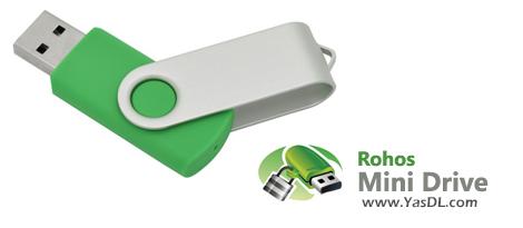 دانلود Rohos Mini Drive 2.8 - نرم افزار مخفیسازی فایلها و محافظت از حافظه فلش