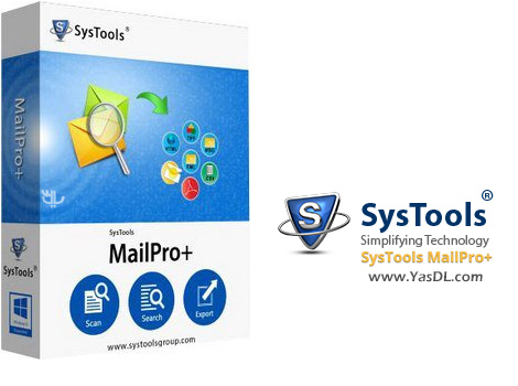 دانلود SysTools MailPro+ 1.0.0.0 - نرم افزار مدیریت ایمیل