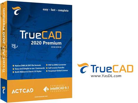 دانلود TrueCAD Premium 2020 x64 - نرم افزار مدلسازی قطعات و نقشهکشی صنعتی