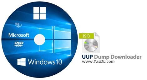 دانلود UUP Dump Downloader 1.2.4 - دریافت رایگان ایمیج ویندوز 10