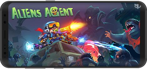 دانلود بازی Aliens Agent: Star Battlelands 1.0.5 - مامور فرازمینی: نبردهای بین ستارهای برای اندروید + نسخه بی نهایت