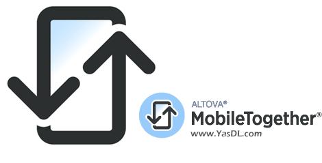 دانلود Altova MobileTogether Designer 5.4 x86/x64 - نرم افزار طراحی اپلیکیشن موبایل