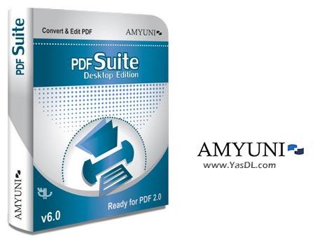 دانلود Amyuni PDF Converter / PDF Suite Desktop 6.0.1.9 - نرم افزار ساخت و تبدیل اسناد PDF
