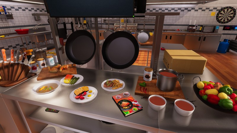 Cooking Simulator Cakes And Cookies For PC |  Despair