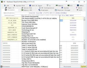 HE Hardware Read Write Utility.cover1  300x234 - دانلود HE - Hardware Read & Write Utility 1.19.06.23 - دسترسی به اطلاعات سخت افزار سیستم