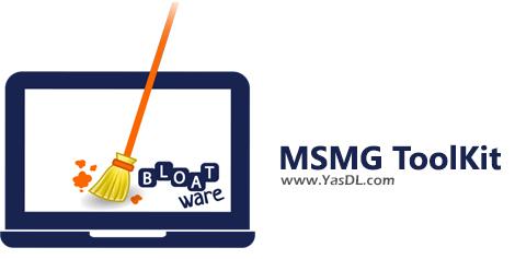 دانلود MSMG ToolKit 9.3.2 - مدیریت و حذف اپلیکیشنهای پیشفرض در ویندوز