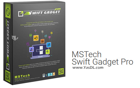 دانلود MSTech Swift Gadget 2.2.4.349 - دستیار مفید برای بهبود تجربه کاربری در ویندوز
