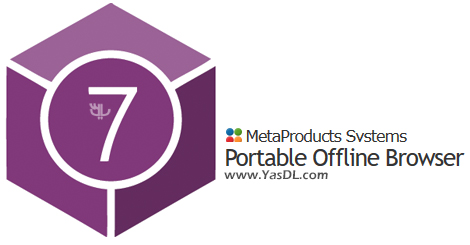 دانلود MetaProducts Portable Offline Browser 7.7.4640 - نرم افزار وبگردی آفلاین