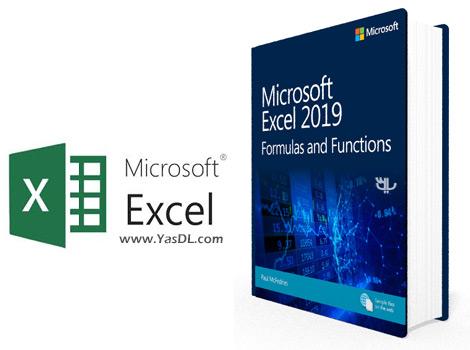 دانلود کتاب آموزش اکسل 2019 - آشنایی با فرمولها و توابع - Microsoft Excel 2019 Formulas and Functions, First Edition