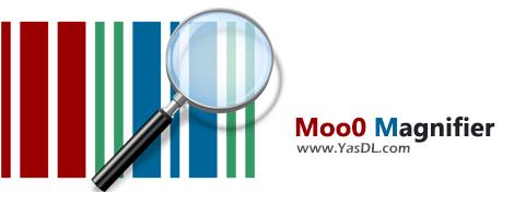 دانلود Moo0 Magnifier 1.19 - ابزار بزرگنمایی ساده و سریع برای ویندوز