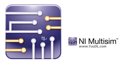 دانلود NI Multisim Professional 14.2 - نرم افزار مولتیسیم جهت طراحی مدارات الکترونیکی