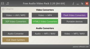Pazera Audio Video Pack.cover1  300x164 - دانلود Pazera Audio Video Pack 2.20 x86/x64 - نرم افزار تبدیل فرمتهای صوتی و تصویری