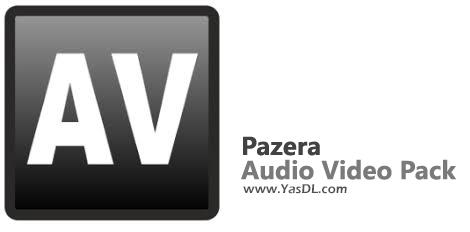 دانلود Pazera Audio Video Pack 2.20 x86/x64 - نرم افزار تبدیل فرمتهای صوتی و تصویری