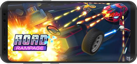 دانلود بازی Road Rampage: Racing & Shooting to Revenge 3.6 - خشم و رقابت در جاده برای اندروید + نسخه بی نهایت