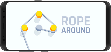 دانلود بازی Rope Around! 1.1.4 - طراحی الگوها با طناب برای اندروید + نسخه بی نهایت