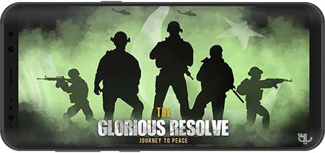 دانلود بازی The Glorious Resolve: Journey To Peace 1.9.2 - عزم باشکوه: مسیری به سوی آرامش برای اندروید + نسخه بی نهایت
