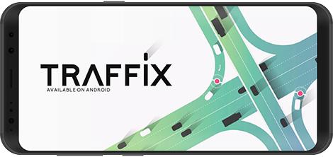 دانلود بازی Traffix 2.2 - کنترل ترافیک در شهرهای شلوغ برای اندروید