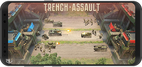 دانلود بازی Trench Assault 2.8.1 - تجربه جنگ جهانی اول و دوم برای اندروید