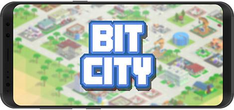 دانلود بازی Bit City 1.2.6 - شبیهساز شهرسازی برای اندروید + نسخه بی نهایت