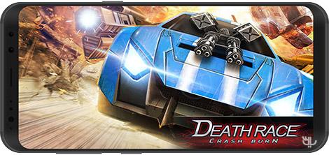 دانلود بازی Death Race: Crash Burn 1.2.16 - مسابقات مرگ برای اندروید + نسخه بی نهایت