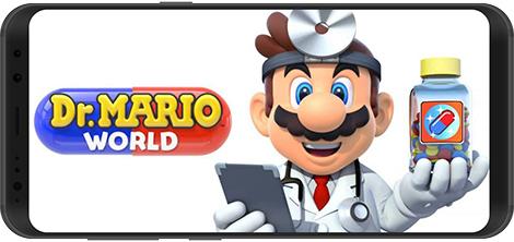 دانلود بازی Dr. Mario World 1.0.3 - چالش جذاب دکتر ماریو برای اندروید
