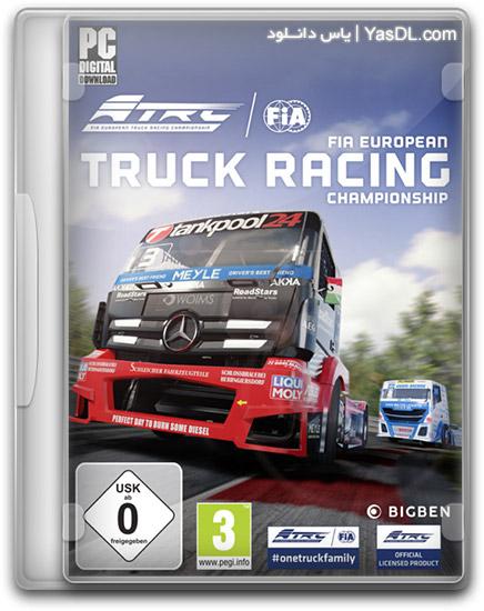 دانلود بازی FIA European Truck Racing Championship برای PC