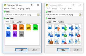 FileMarker.NET Free.cover1  300x196 - دانلود FileMarker.NET Free 2.1 - تغییر رنگ فایلها و فولدرها جهت اولویتبندی آنان