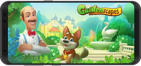 دانلود بازی Gardenscapes 3.5.0 - شبیهساز باغبانی برای اندروید + نسخه بی نهایت