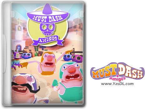 دانلود بازی Must Dash Amigos برای PC