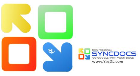 دانلود Syncdocs 6.992.32.604 - همگامسازی اسناد با گوگل درایو
