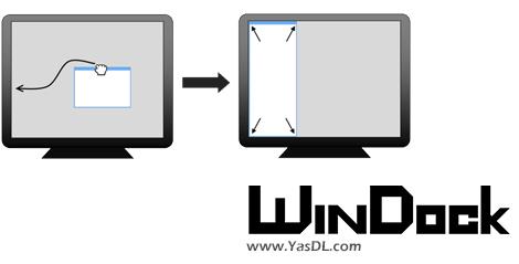 دانلود WinDock 1.2.1 - تنظیم سایز و محل قرارگیری پنجرهها در ویندوز