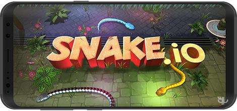 دانلود بازی 3D Snake . io 4.5 - بازی اسنیک سه بعدی برای اندروید + نسخه بی نهایت