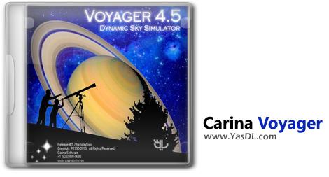 دانلود Carina Voyager 4.5.7 - کارینا وویجر: تماشای آسمان و سیارات کیهان