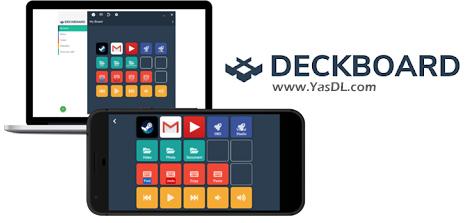 دانلود Deckboard 1.6.2 - در دست گرفتن کنترل دسکتاپ ویندوز توسط گوشی اندروید