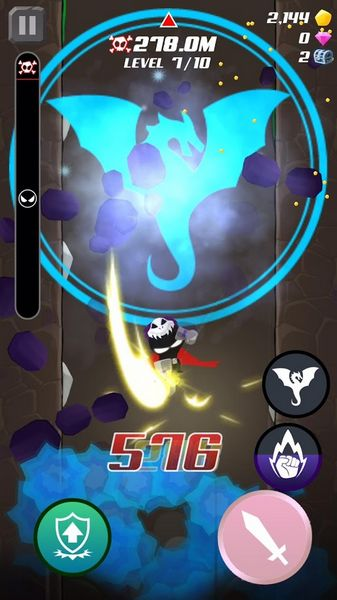 DownBlade 1.0.5 Sword Champion For Android + Infinity Edition