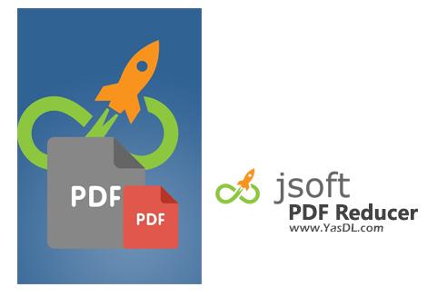 دانلود Jsoft PDF Reducer 2.2 + Portable - نرم افزار کاهش حجم فایلهای PDF