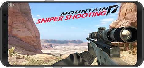 دانلود بازی Mountain Shooting Sniper 2.7 - تکتیرانداز کوهستان برای اندروید + نسخه بی نهایت