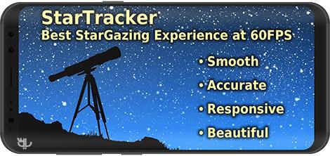 دانلود Star Tracker - Mobile Sky Map & Stargazing guide 1.6.32 - نرم افزار نجوم و ستارهشناسی برای اندروید