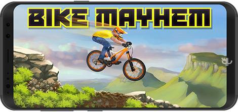 دانلود بازی Bike Mayhem Mountain Racing 1.5 - دوچرخهسواری در کوهستان برای اندروید