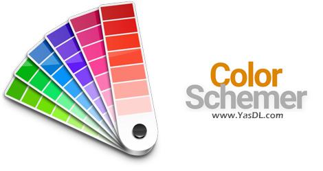 دانلود ColorSchemer Studio 2.1.0 - نرم افزار استخراج کد و نوع رنگ در ویندوز