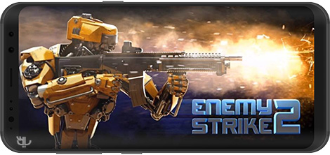 دانلود بازی Enemy Strike 2 1.0.4 - تهاجم دشمن 2 برای اندروید + نسخه بی نهایت