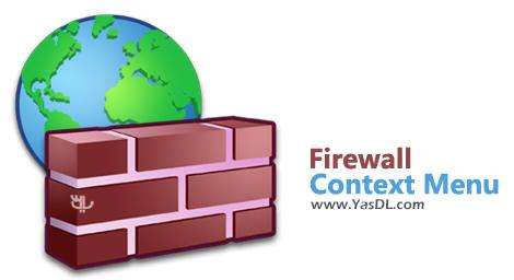 دانلود Firewall Context Menu 1.0 - دسترسی سریع به تنظیمات فایروال از طریق منوی راست کلیک